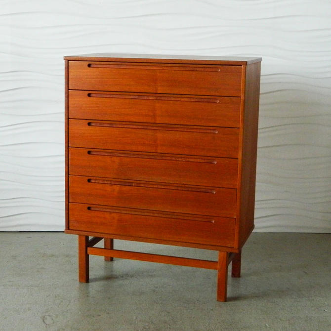 HA-C821 Danish Teak Torring Chest of Drawers