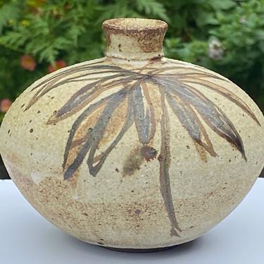 Vintage Studio Pottery Weed  Pot by Walkingtan