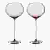 Gorman Red Wine Balloon Set 2pc   Amber