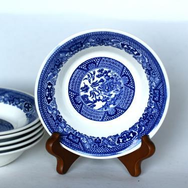 vintage royal china blue willow sauce dish by suesuegonzalas