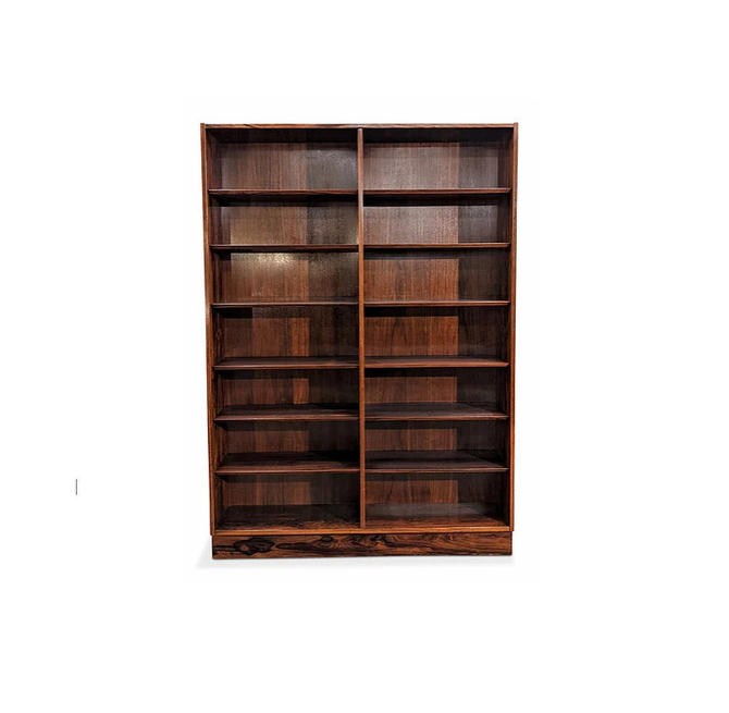 Vintage Danish Mid Century Hundevad Rosewood Bookcase - Hoej by LanobaDesign