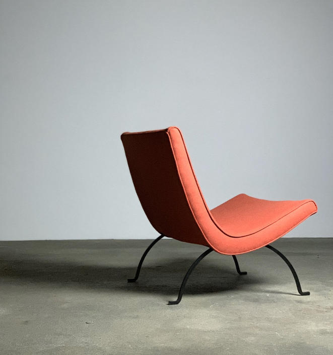 Milo Baughman Scoop Chair by James Inc by midcenTree