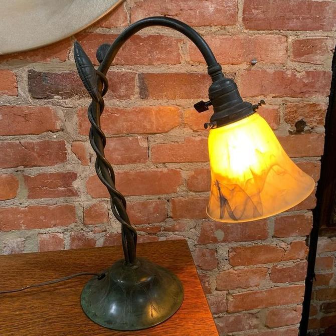 Art nouveau table/desk lamp