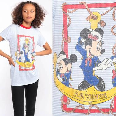 4628177accca Sailor Minnie Mouse Shirt -- Disney TShirt Mickey Minnie Shirt 90s ...