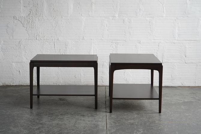 Pair of Dark Side Tables