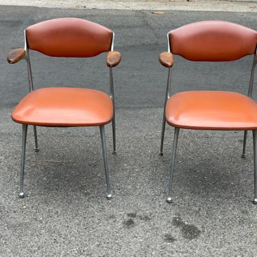 Mid Century Modern Gazelle Arm Chairs by Shelby Williams - Set of 2 by HollywoodHillsModern