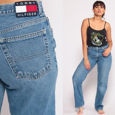 b36a30108 Tommy Jeans Mom Jeans TOMMY HILFIGER Denim Pants High Waist Jeans ...