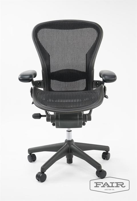 Sensational Herman Miller Aeron Office Chair From Fair Auction Co Of Forskolin Free Trial Chair Design Images Forskolin Free Trialorg