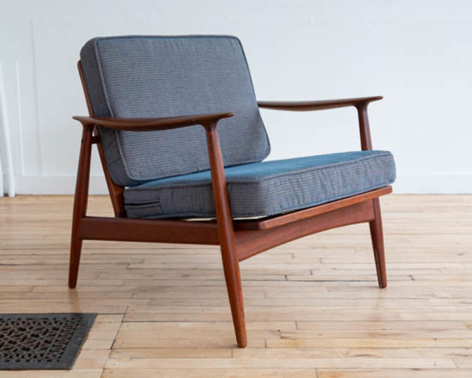 K. Rasmussen Teak Lounge Chair