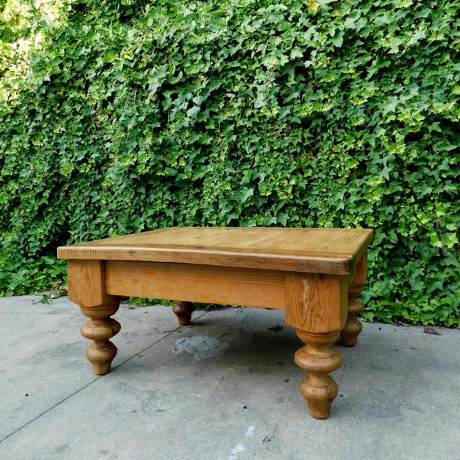 Aged Pine Coffee Table