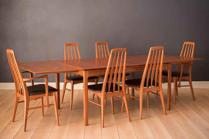 Vintage Danish Teak Extension DUX Dining Table by Folke Ohlsson by MidcenturyMaddist