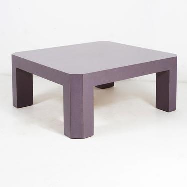Purple Parsons Coffee Table by BetsuStudio