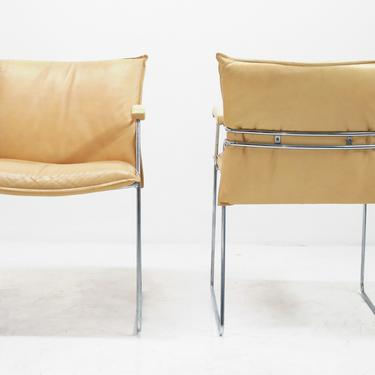 Italian Leather Chairs (set/4) by BetsuStudio