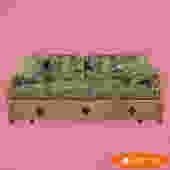 Vintage Bamboo Sleeper Sofa