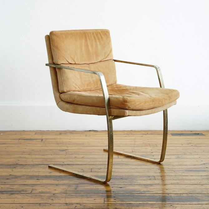 mcm side chair, chrome and suede mcm chair, mcm chair, modern chair, midcentury modern chair, 1970s chair, mcm chrome chair by pulpholyoke