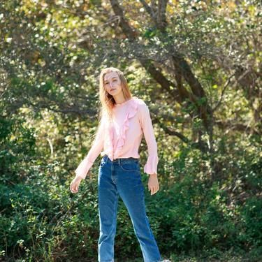 80s High Waisted Dark Denim Jeans Vintage Straight Leg Mom Jeans by AppleBranchesVintage