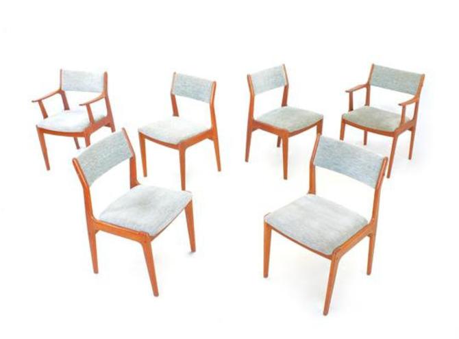 Mid Century Dining Chairs by Dyrlund of Denmark by SputnikFurnitureLLC