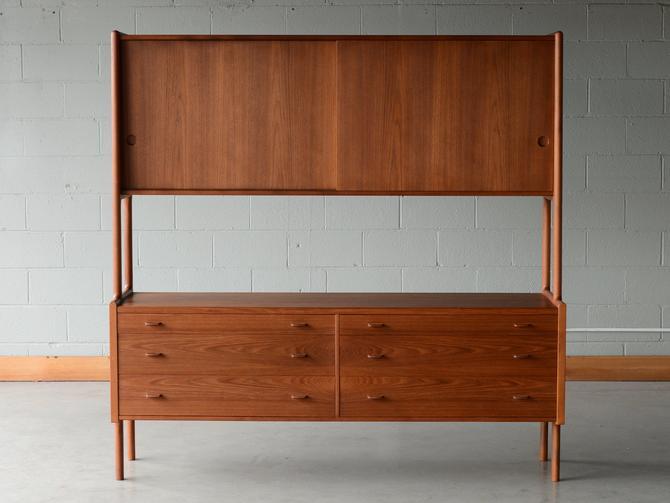 1950's Hans Wegner RY20 Cabinet in Teak Mid Century Danish Modern by MadsenModern