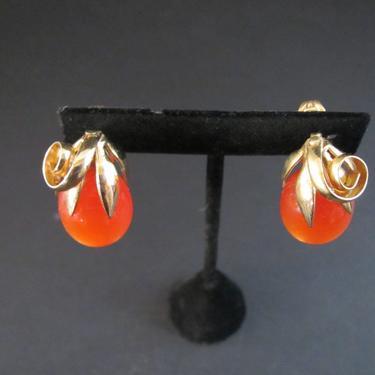 MCM Napier Doris Day Earrings 1958 by ArtloversFinds
