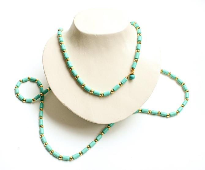 Butter Turquoise Beaded Layering Necklace