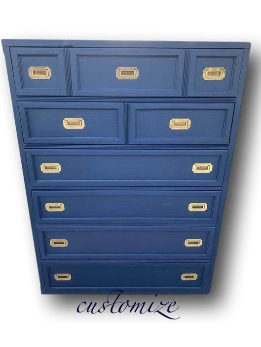 campaign chest Blue or customize one by Dianemarieshome