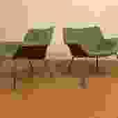 Herman Miller Swoop Chairs, Pair