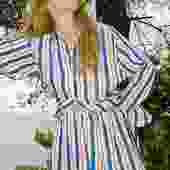 Terra Klein Blue Stripes Calobra Shorts
