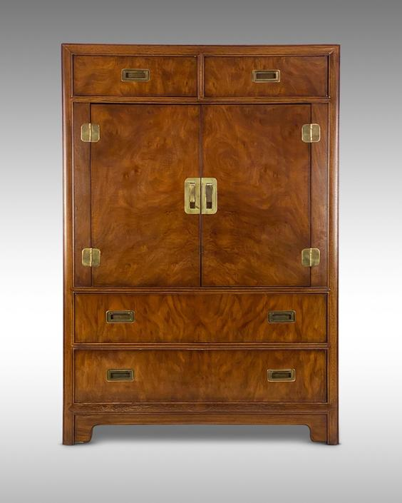 Drexel Heritage Armoire for their Dynasty Collection - *Please request a shipping quote before you purchase. by CoolCatVintagePA