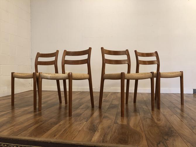 JL Moller Model 84 Dining Chairs