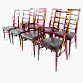 Set of 8 Koefoed Hornslet Danish Modern Rosewood Dining Chairs
