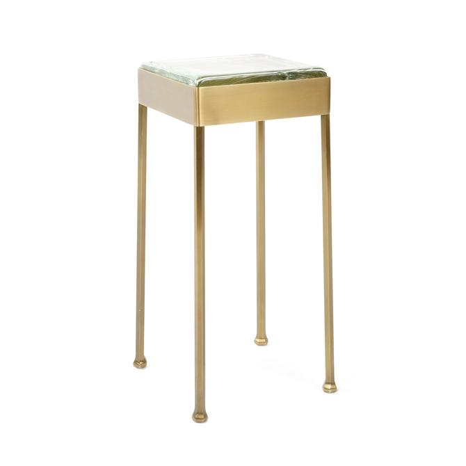 WYETH Original Glass Block Cocktail / Side Table