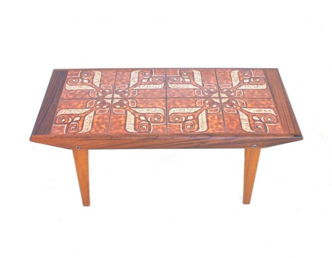 Mid Century Danish Coffee/Patio Table by SputnikFurnitureLLC