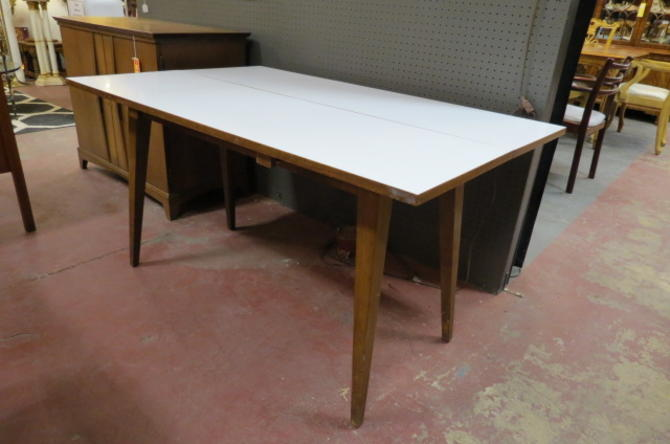Vintage MCM convertible dining table