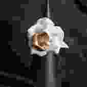 Gilded Porcelain Peony Ring