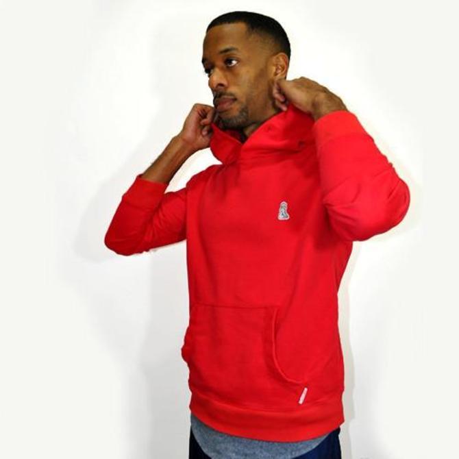 Warm Up Hoody Sweatshirt (Red)