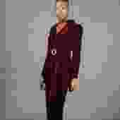 Wine Down Velvet 2-Piece Suit