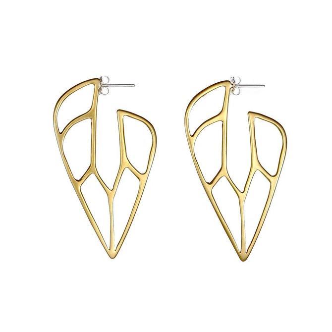 Jade Hoop Earrings
