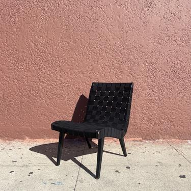 Webbed Lounge Chair