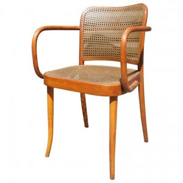 Vintage Bentwood Armchair by Joseph Hoffmann for Stendig