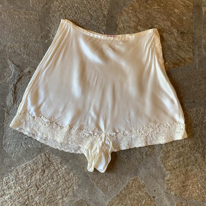 1940s Kristina Handmade's Satin Slip Shorts RARE