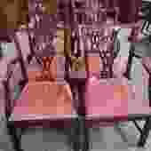 DMC60b Mahogany Dining Chairs