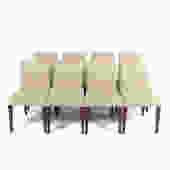 Eight French Ligne Roset Dining Chairs