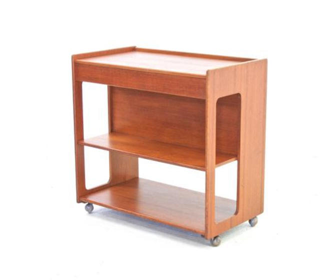 Mid Century Bar Cart By McIntosh of Scotland by SputnikFurnitureLLC