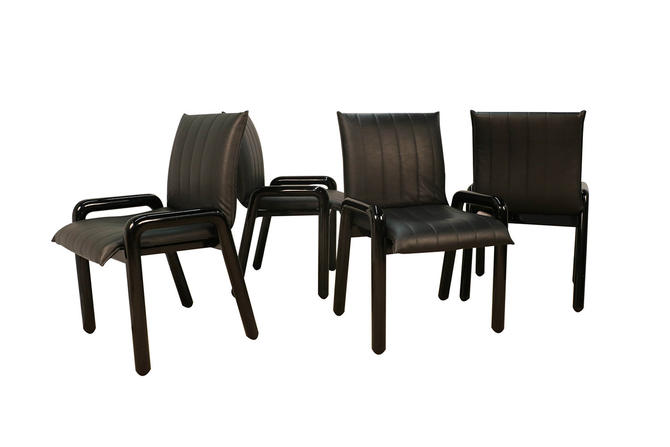 "Four Guido Faleschini Italian ""Dilos"" Dining Chairs By i4 Mariani For Pace by Marykaysfurniture"