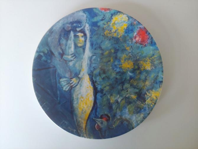 Limited Edition The Marc Chagall Plate by Georg Jensen by ModandOzzie