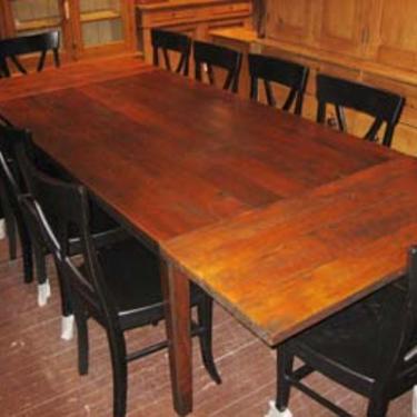 Custom Cherry Farm Tables6' Table $2,8957' Table $3,9958' Table $3,6959' Table $4,69510' Table $5,495Two 18