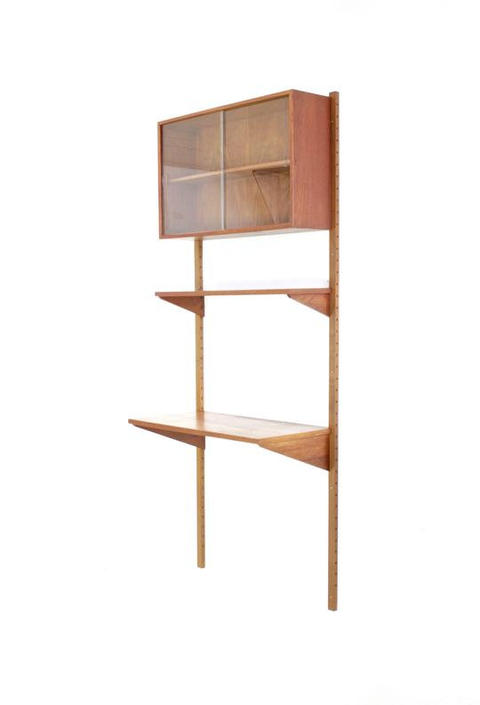 Mid Century Wall unit by France and Son ( Cado Denmark ) by SputnikFurnitureLLC