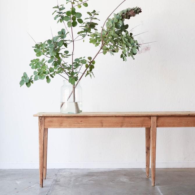 Narrow Pine Console