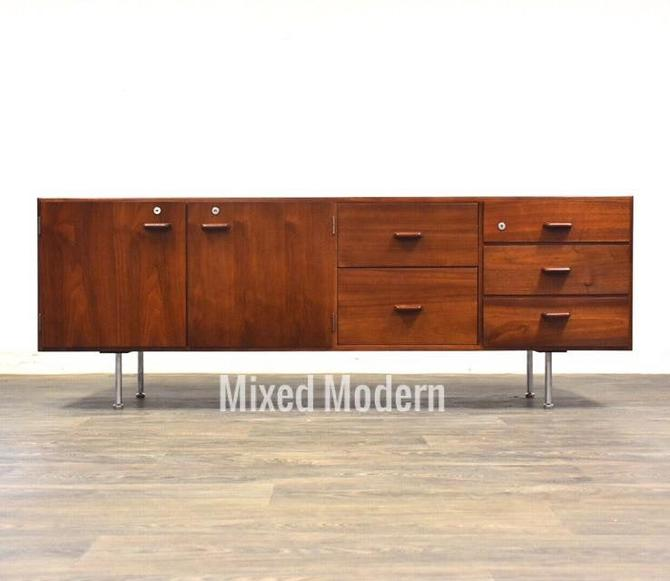 Walnut Credenza by Jens Risom by mixedmodern1