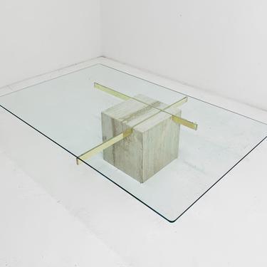 Travertine Table by BetsuStudio